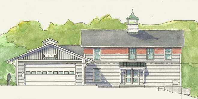 Proposed Firehouse Renovation